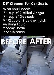 How To Clean Auto Upholstery Stains Best 25 Clean Car Seats Ideas On Pinterest Cleaning Car Seats