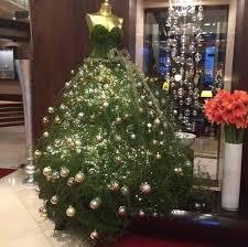 how to make a christmas tree dress google search holidays