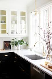 kitchen appealing two tone kitchen cabinets with kitchen sink