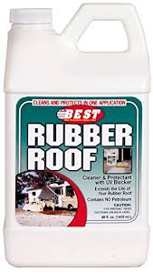 Best Way To Clean Rv Awning Amazon Com B E S T 55048 Rubber Roof Cleaner U0026 Protectant Bottle