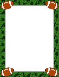 printable football stationery and writing paper free pdf