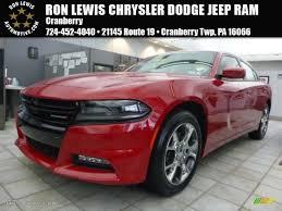 dodge jeep 2015 2015 redline red tri coat pearl dodge charger sxt awd 101127795