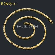 ethlyn new arrival trendy medusa design jewelry gold color men