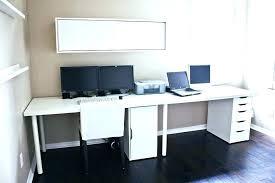 Dual Monitor Computer Desks Dual Monitor Computer Desk Home Office Terrific Ideas Amazing