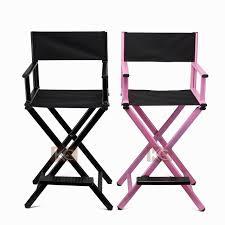 makeup chairs for professional makeup artists silver black lightweight portable aluminum metal makeup chair