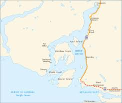 Canada Highway Map by British Columbia Highway 99 Wikipedia