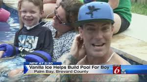 vanilla ice returning to brevard for johnson family
