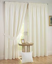 Cream Blackout Curtains Eyelet by Sunset Ready Made Curtains Cream Free Uk Delivery Terrys Fabrics