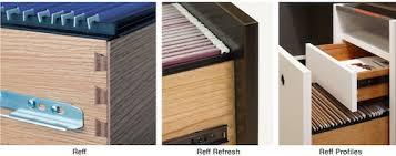 Knoll Reff Reception Desk The Evolution Of Reff Profiles Bauhaus