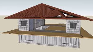 shipping container house roof youtube