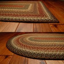 Country Primitive Rugs Homespice Bosky Braided Area Rug Primitive Oval Rectangle 20x30