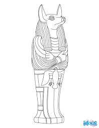 Color Of Egypt Flag Anubis Egyptian Goddess U0026 Gods Coloring Page Coloring Pages Of