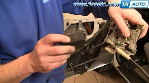 how to install replace door latch cable ford f150 f250 f350 bronco