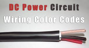 dc power circuit wiring color codes label id systems