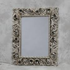 shabby chic mirrors mrm244 classical french ornate silver