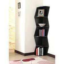 Walnut Corner Bookcase Bookcase Mid Century Modern Corner Bookcase Waverly Modern