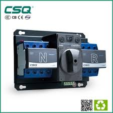 63a 3 phase dual power automatic transfer switch with 3p or 4p