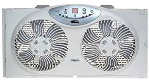 electrically reversible twin window fan amazon com bionaire bw2300 n twin reversible airflow window fan