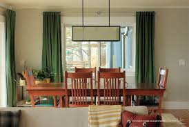 Dining Room Window Green Curtains In Dining Room Window Jpg W 600 H 402