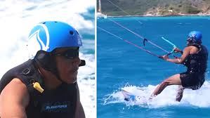 Vacation Obama Barack Obama Goes Kitesurfing With Richard Branson Tmz Com