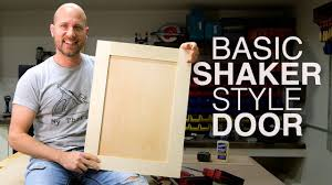 how to make simple shaker cabinet doors build shaker cabinet doors with table saw new to woodworking