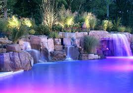 Waterfall Backyard Pool Designs With Waterfall U2013 Bullyfreeworld Com