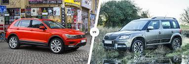 suv volkswagen 2010 vw tiguan vs skoda yeti suv comparison carwow