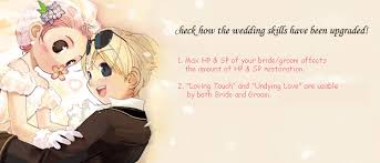 wedding dress ragnarok ragnarok online updates wedding skill update
