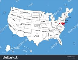 World Map Of Usa by Maryland State Usa Vector Map Isolated Stock Vector 309562631