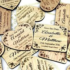 Rustic Save The Date Magnets Personalised Wooden Save The Date Wedding Magnet Vintage Rustic