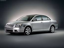 toyota sedan toyota avensis sedan 2003 picture 4 of 14