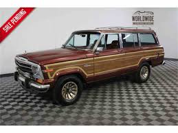classic jeep wagoneer for sale 1986 jeep wagoneer for sale classiccars com cc 967490