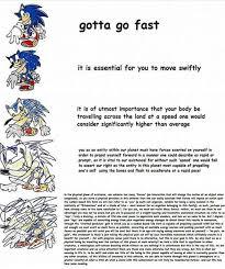 Sonic Gotta Go Fast Meme - gotta go fast imgur