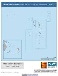 French Polynesia Map Map Gallery Sedac