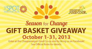chagne gift basket season for change october gift basket giveaway chequamegon food