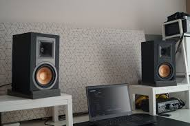 jbl home theater system klipsch r 15pm powered speakers review can they beat my benchmark