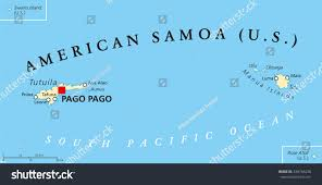 map samoa islands political map samoa formerly stock vector 438764236