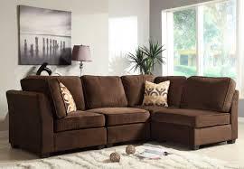 Living Room With Dark Brown Sofa by Modern Brown Sofa Nyfarms Info