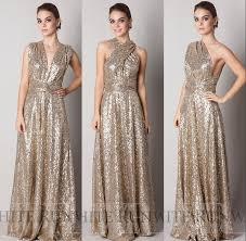 gold bridesmaid dresses aliexpress buy custom made of honor dresses for wedding