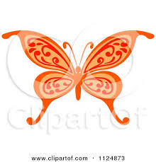 clipart of a lime green butterfly royalty free vector
