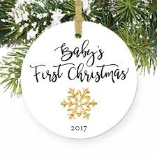 baby s ornament 2017 gender neutral