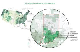 Clemson University Map Gallery Of Indiana Hardwood Clt Ikd 40