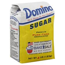 domino domino sugar premium pure cane granulated 4 lb 1 81 kg rite aid