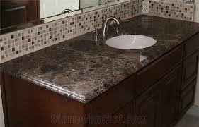 Bathroom Vanity Counters Emperador Dark Marble Bath Tops Emperador Dark Marble Bathroom