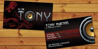 Dj Visiting Card Design Download