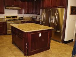 Kitchen Cabinets Riverside Ca Fascinating Red Color Mahogany Wood Kitchen Cabinets Come With