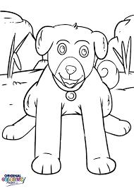 puppies u2013 coloring pages u2013 original coloring pages