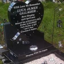 headstones for babies baby child memorials archives stevenson memorials