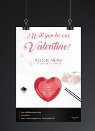 entry 36 by amaliagoyanes for design a poster for a restaurant contest entry 36 for design a poster for a restaurant for valentines day bookings
