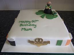 irish themed birthday cake kerry rutherford flickr